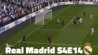 FIFA 15 Real Madrid Career Mode - 9-goal thriller El Clasico - S4E14