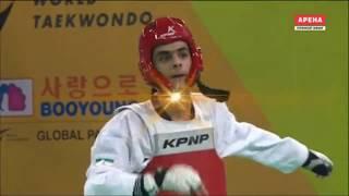 Mahammad Mammadov AZE vs Mirhashem Hosseini IRI Taekwondo World Championship 2017 Semifinal Men 63kg