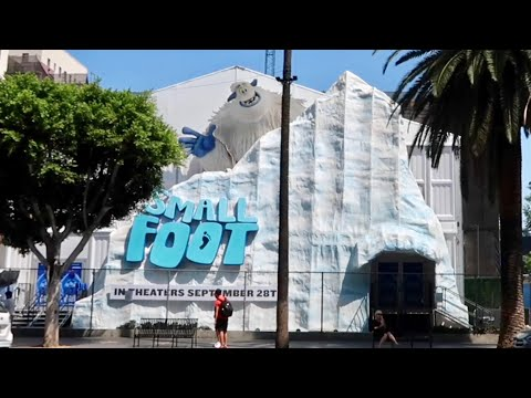 Xxx Mp4 Smallfoot Yeti Village HUGE Interactive Pop Up Exhibit Snow In Hollywood 3gp Sex