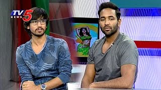Edorakam Adorakam Movie Team Interview | Manchu Vishnu | Raj Tarun | Hebah Patel | TV5 News