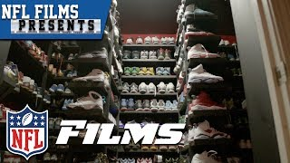 NFL Players & Coaches Collect Everything From Shoes to Slurpee Cups   NFL Films Presents