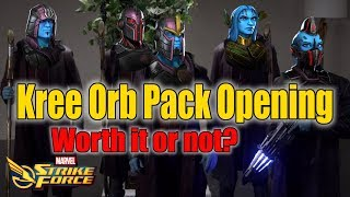 Opening the Kree Orb Pack- Good Decision or Bad Decision - Marvel Strike Force