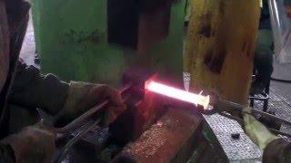Молот. Работа с эскизами. Изготовление болта. 400 kg. hammer. Bolt manufacturing