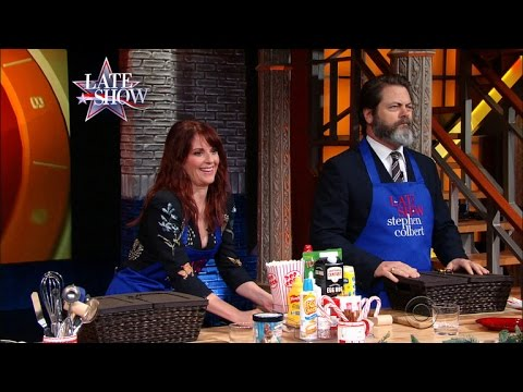 Smooshed Holiday Edition with Megan Mullally and Nick Offerman