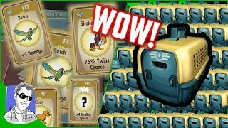 Fallout Shelter Pet Carrier Opening Rare Legendary Pets Special