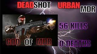 The Division 56 KILLS 0 DEATHS URBAN MDR DEADSHOT!!