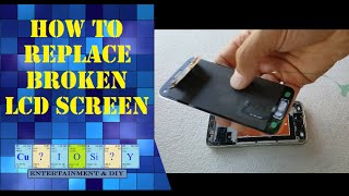 How to replace broken screen on Samsung Galaxy s5 mini