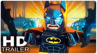 THE LEGO BATMAN MOVIE Alle Trailer German Deutsch | DC Filme 2017