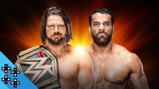 WWE Clash of Champions: AJ Styles vs. Jinder Mahal - WWE Championship Match - WWE 2K18 Match Sims