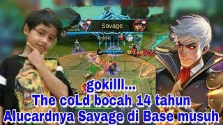 Top Global Alucard The Cold SAVAGE didetik2 terakhir Kemenangan,GG Parah Gameplay-nya