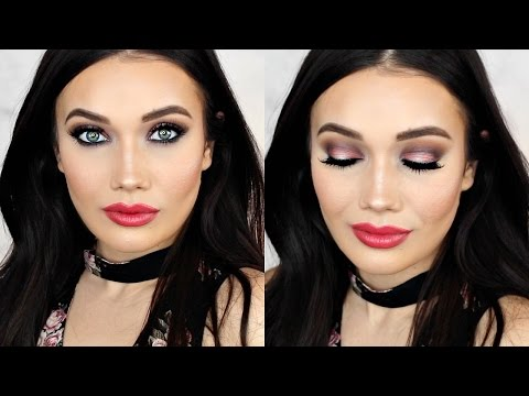GET READY WITH ME | Sexy Date Night Makeup