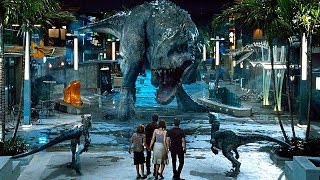 Raptors vs Indominus Rex Scene - Jurassic World (2015) Movie Clip HD