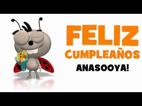 FELIZ CUMPLEAÑOS ANASOOYA!