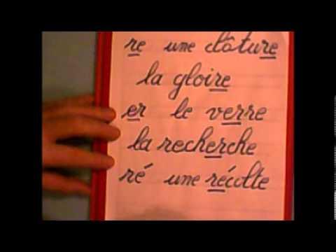 Etude du son r en français au CP : combinaison des lettres ( r + les voyelles )