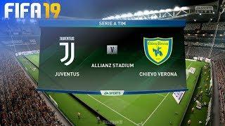 FIFA 19 - Juventus vs. Chievo Verona @ Allianz Stadium