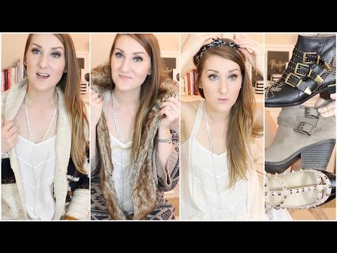 FASHION HAUL & TRY ON WITH ME! Forever 21, Shoes, & more!