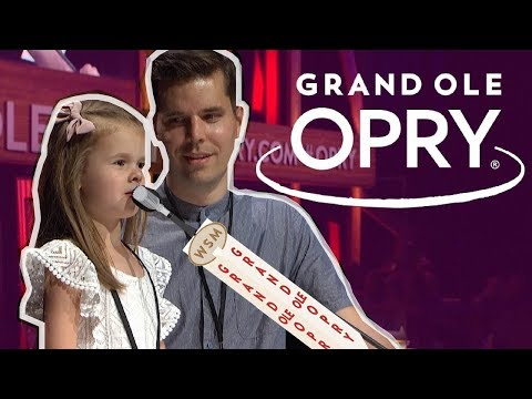 CLAIRE SINGS AT THE GRAND OLE OPRY IN NASHVILLE!!