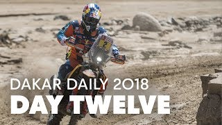 Day 12: Walkner Holds on to Lead While Price Makes Up Lost Time | Dakar Daily 2018