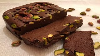 How To Make The Best Chocolate Halawa - Chocolate Halva - طريقة تحضير الحلاوة الطحينية بالشوكولا