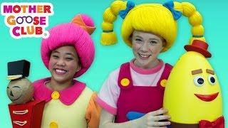 Humpty Dumpty | DIY Surprise Egg  | Mother Goose Club Songs for Children
