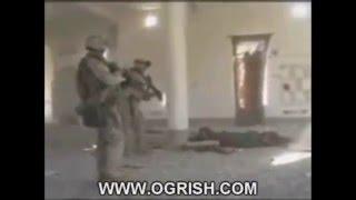 US Marines Kill Iraqi Soldiers in Moshe, War crime?(live footage)