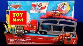 Mack Color Cars Toys Disney Pixar Cars 2 Deutsch Spielzeug Autos Speelgoed Lightning Mcqueen Videos