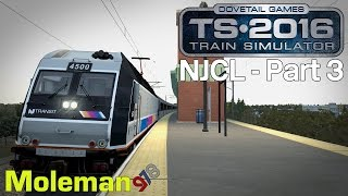 Train Simulator 2016 | North Jersey Coast Line Part 3 | NJTransit ALP-45DP