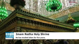 Russian merchant reverts to Islam at Imam Redha Holy Shrine