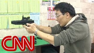 The challenge of buying a gun in Japan