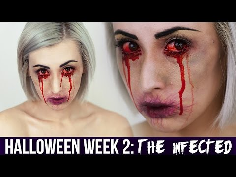 The Infected Makeup HALLOWEEN 2014
