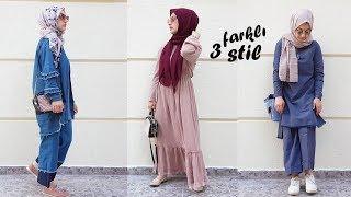Günlük ve Şık Kombinler | 3 Farklı Stil |Hijab Lookbook