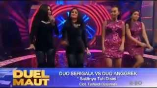 Duo Serigala vs Duo Anggrek (Goyang Dribel vs Goyang Dada Mentok)