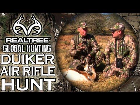 Benjamin Bulldog Big Bore Air Rifle Hunting in South Africa: Duiker