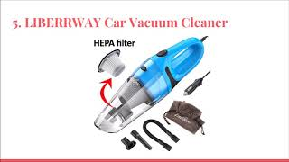 Top 10 Best Car Vacuums in 2018 - DtopList