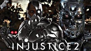 Injustice 2 Online - TERMINATOR CYBORG!