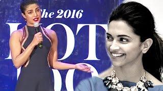 Priyanka Trolls Reporter For Asking About Deepika Vs Priyanka's Hollywood Films