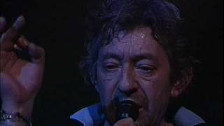 Serge Gainsbourg - Bonnie and Clyde live au Casino De Paris (1985)