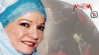 Shadya - تشييع جنازة الفنانة شادية بحضور نجوم الفن والمجتمع