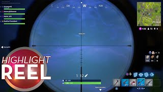 Highlight Reel #349 - Floating Fortnite Player Hit From Across The Map
