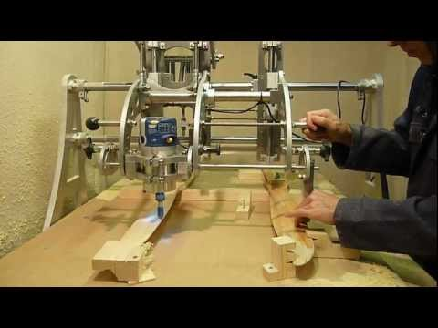 Clone 4D Router Duplicator Copy Carver Propeller Duplicating.