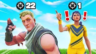 This 6YR Old *CARRIED* a PRO (and me) In Fortnite lol