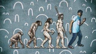 نظرية التطور من غير لف ودوران 🙉