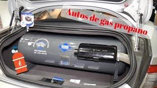Conoce lo que son los autos de gas propano