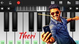 Theri Theme |  tutorial | BGM | Piano notes | My Piano