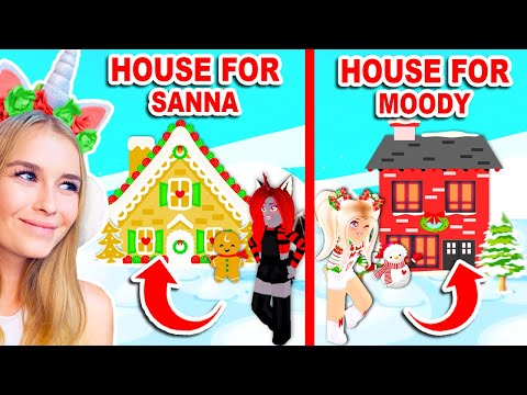 CHRISTMAS HOUSE In ONLY 15 MINUTES Challenge In Adopt Me Roblox