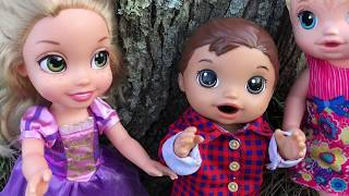 BABY ALIVE Justin And Lulus Play Together Baby Alive Videos