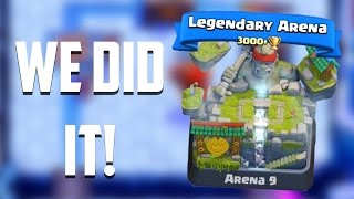 Let's Play Clash Royale #56: LEGENDARY ARENA! We Did It