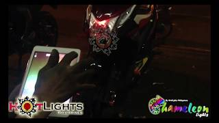 Honda Beat Fi V1 AES HID Chameleon Projector w/ Remote By HotLights Philippines