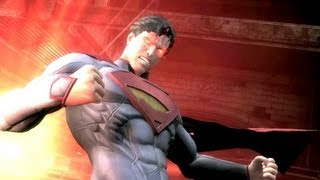 Injustice: Gods Among Us - Superman vs Green Lantern