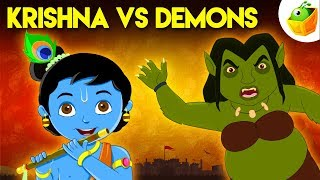 Krishna vs Demons | Full Movie (HD) | Animated Movie | English Stories for Kids